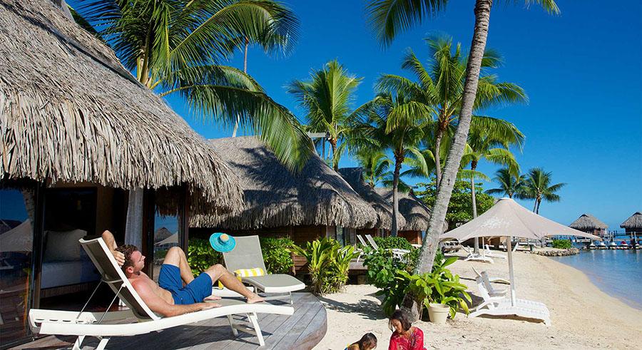 Manava Beach Resort Moorea Island Options